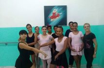 Aulas de ballet do Instituto Cuida de Mim